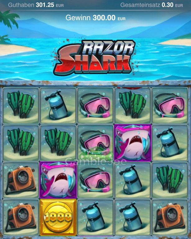 Razor Shark Gewinnbild von Seniorfips