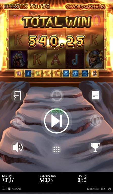 Sword of Khans Gewinnbild von sekZ89