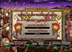 300 Shields Gewinnbild