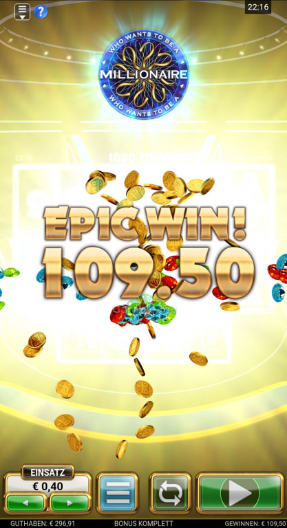 Who Wants to Be a Millionaire Gewinnbild von Uitzn