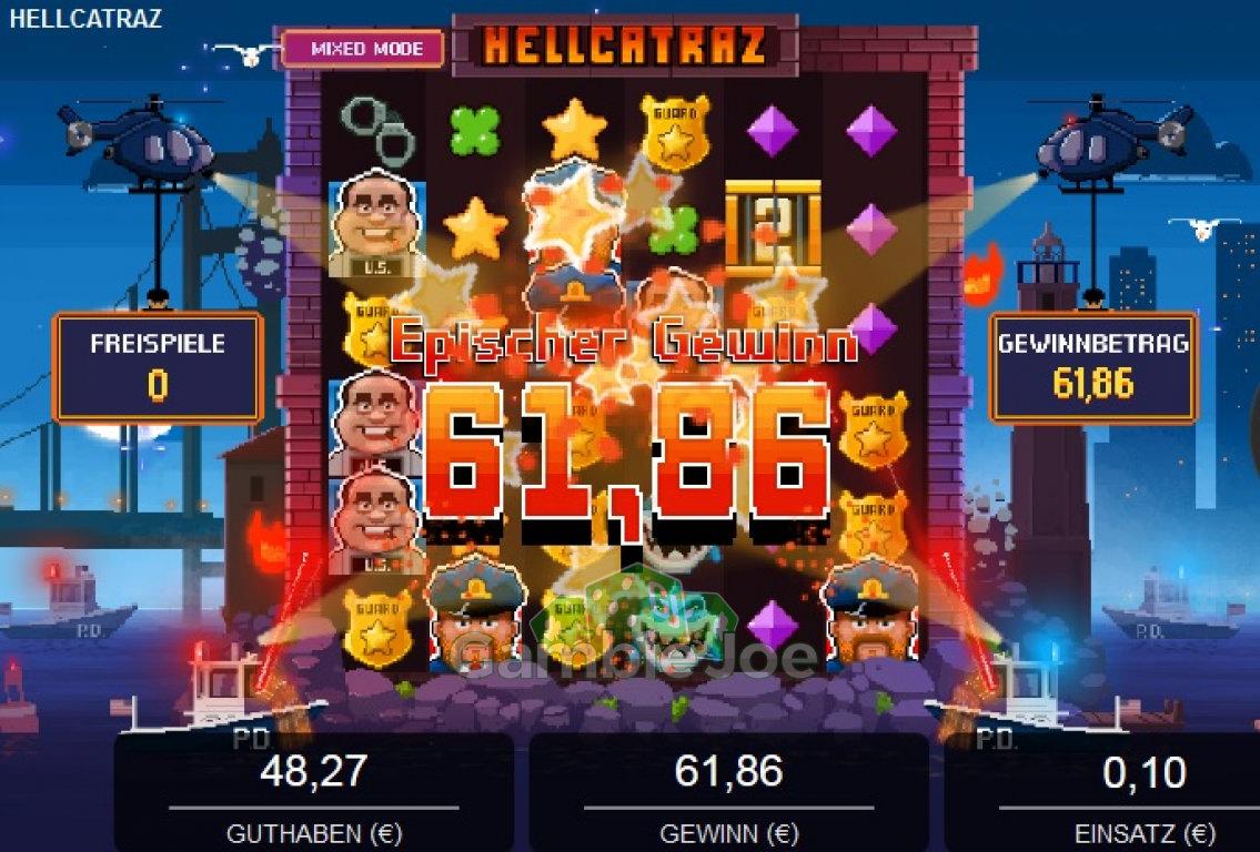 Hellcatraz Gewinnbild von dumdumurindanger