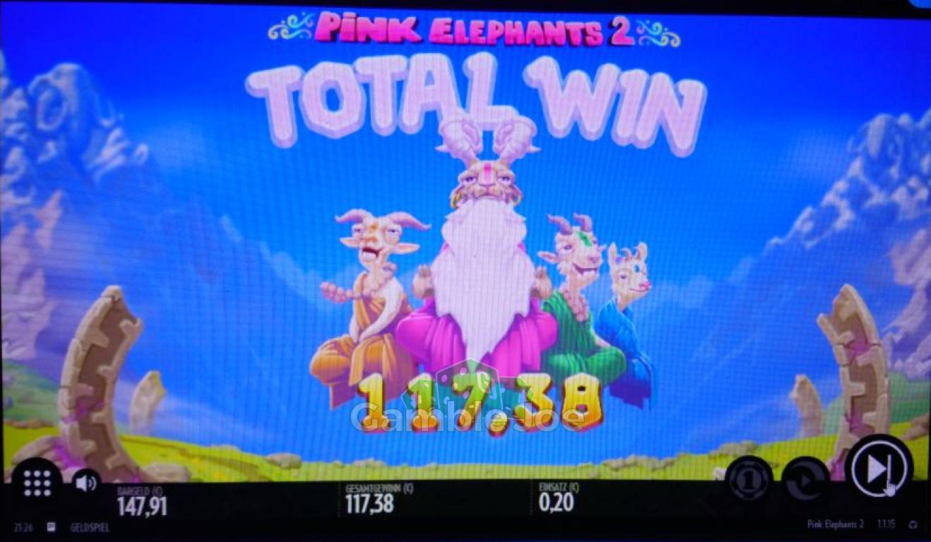Pink Elephants 2 Gewinnbild von redriver67