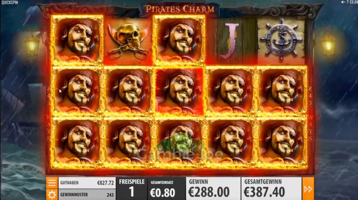 Pirates Charm Gewinnbild von derzweifel