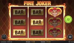 Fire Joker Gewinnbild
