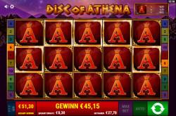 Disc of Athena Gewinnbild