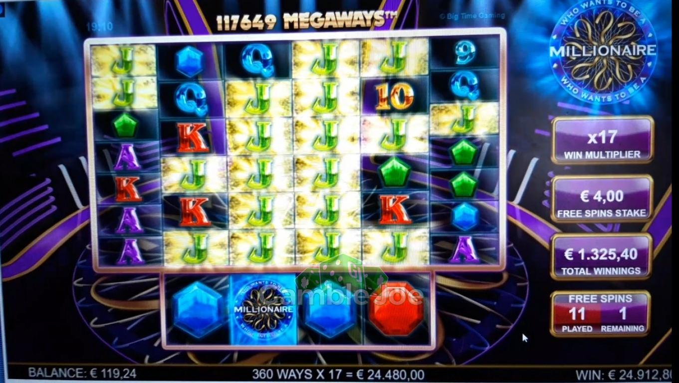 Who Wants to Be a Millionaire Gewinnbild von Kleinkariert