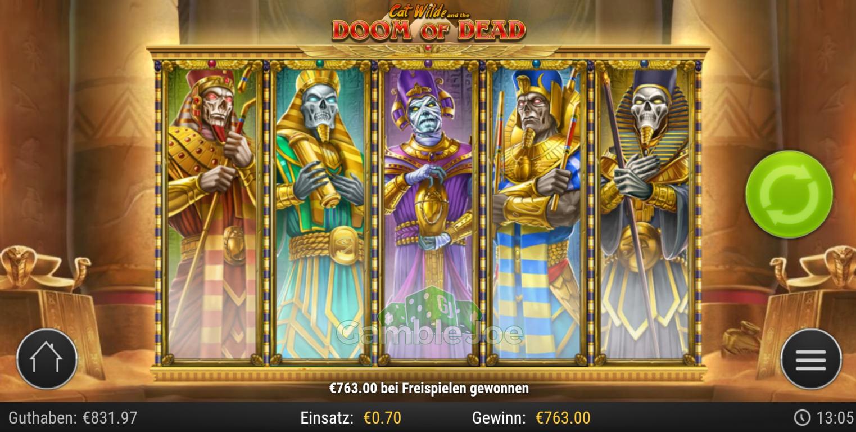 Doom of Dead Gewinnbild von Lapppalo