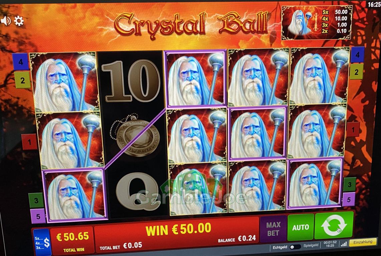 Crystal Ball Gewinnbild von Max1303