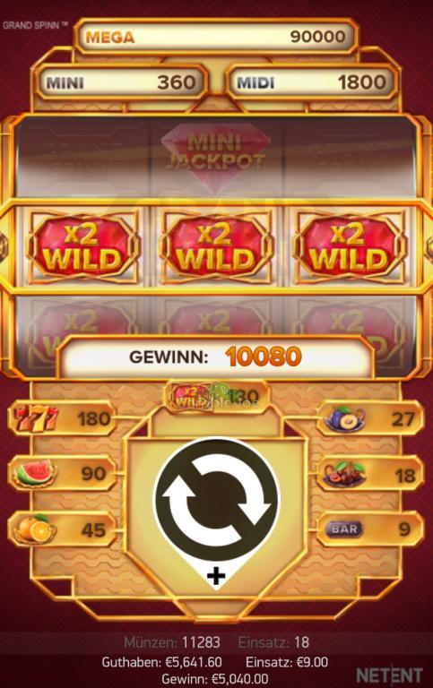 Grand Spinn Gewinnbild von xeyn1312