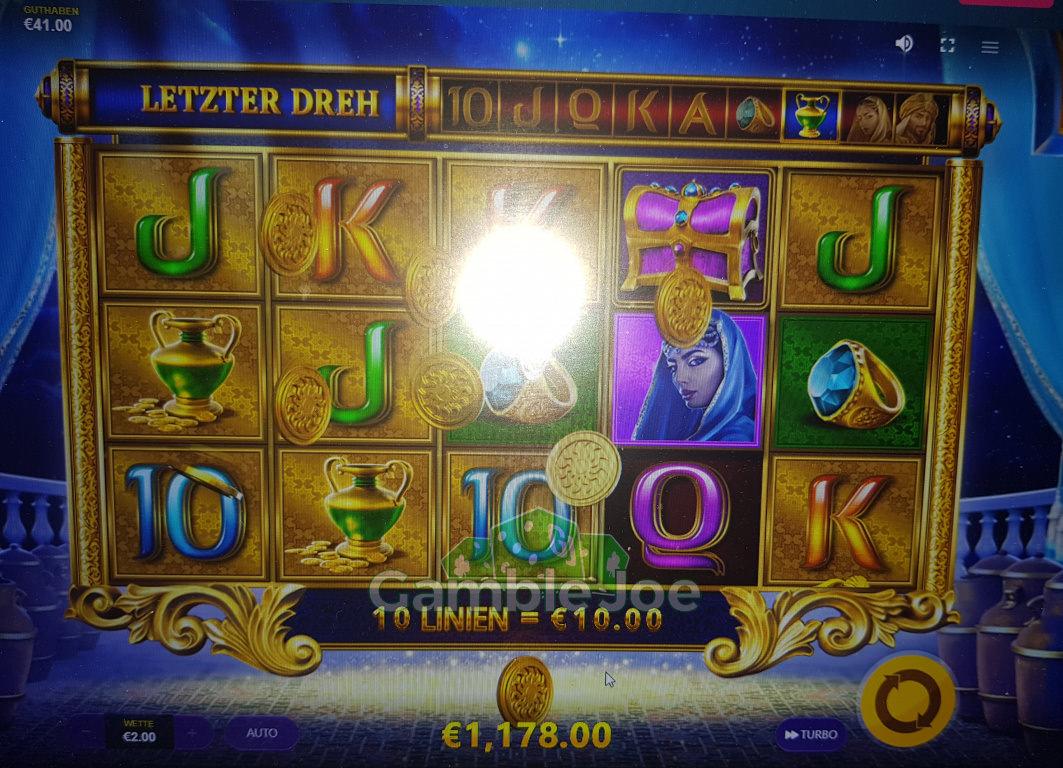 Ali Baba's Luck Gewinnbild von Nickii45