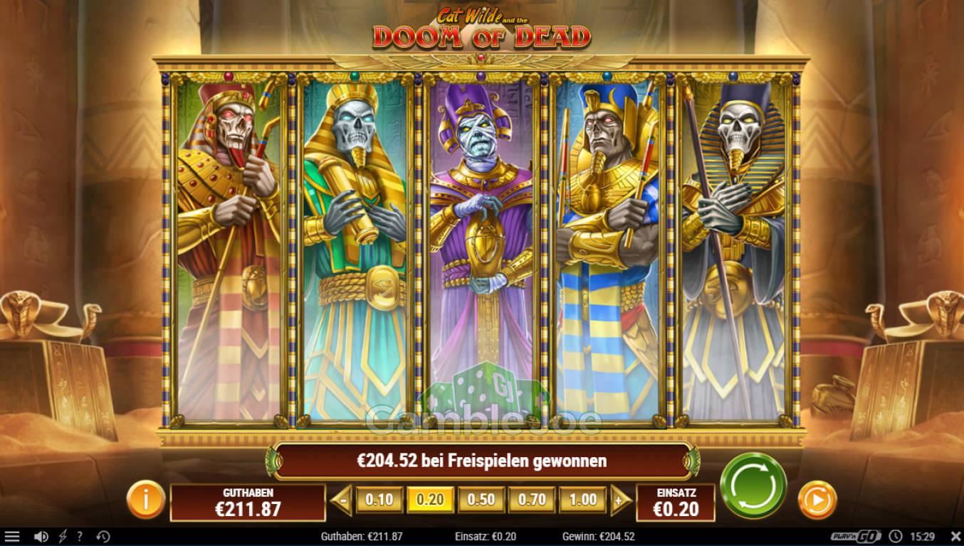 Doom of Dead Gewinnbild von Steinlaus