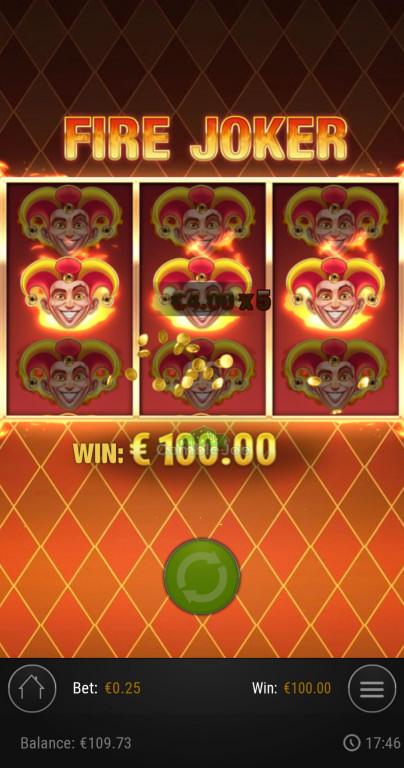 Fire Joker Gewinnbild von Sunny91x
