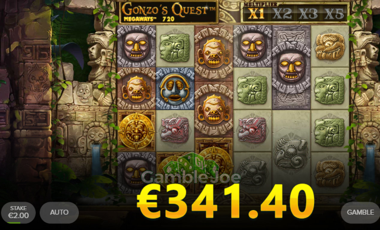 Gonzo's Quest Megaways Gewinnbild von Chris26