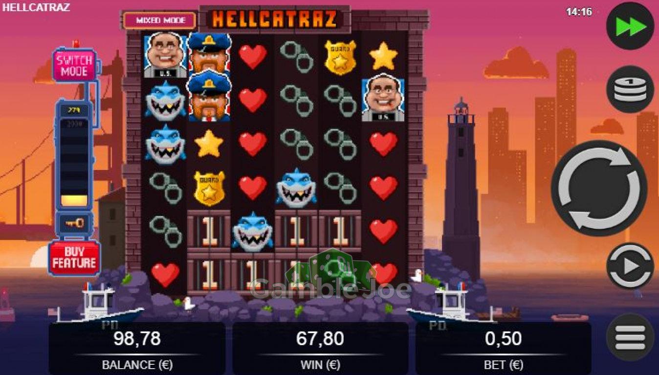 Hellcatraz Gewinnbild von oldschoolmeisje