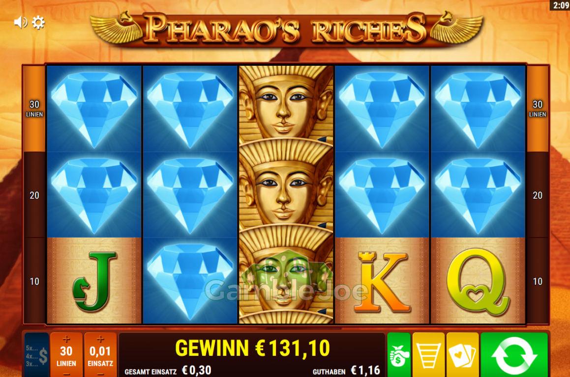 Pharao's Riches Gewinnbild von Delarion