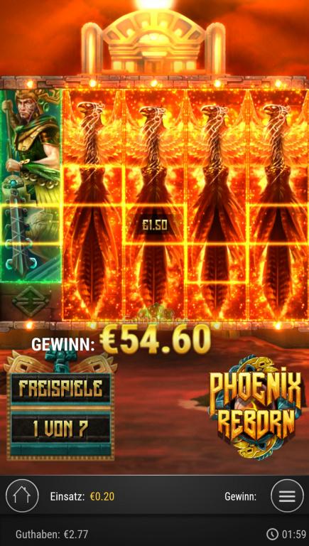 Phoenix Reborn Gewinnbild von Jesss711