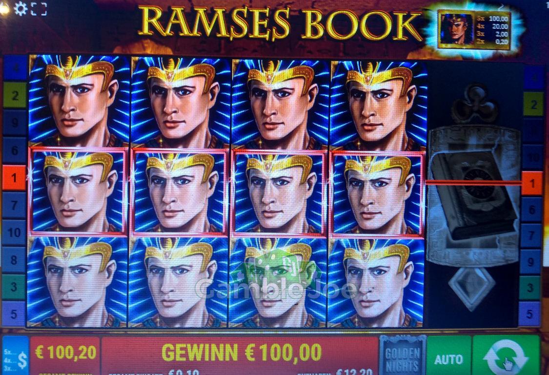 Ramses Book Gewinnbild von Hightower