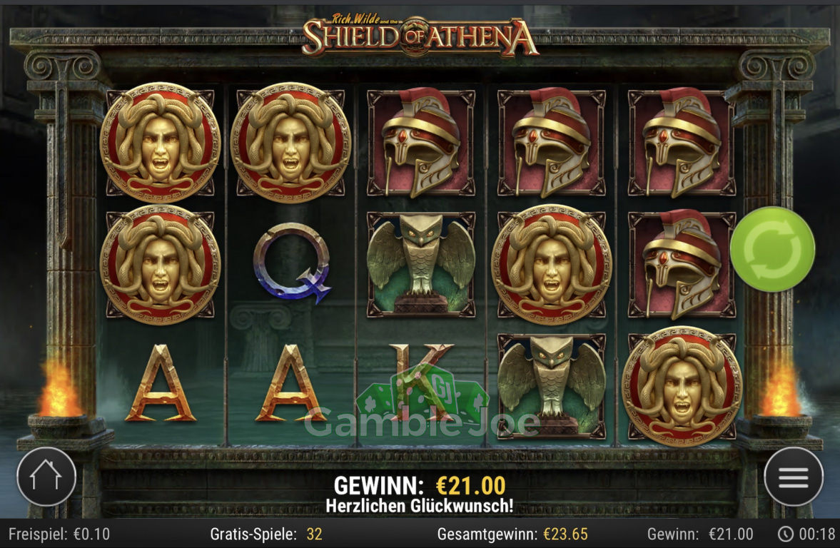 Shield of Athena Gewinnbild von ShakhtarD