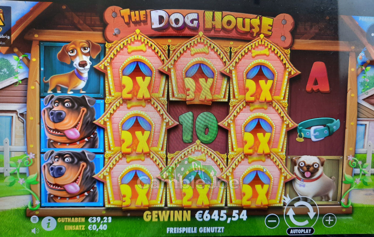 The Dog House Gewinnbild von Elmex