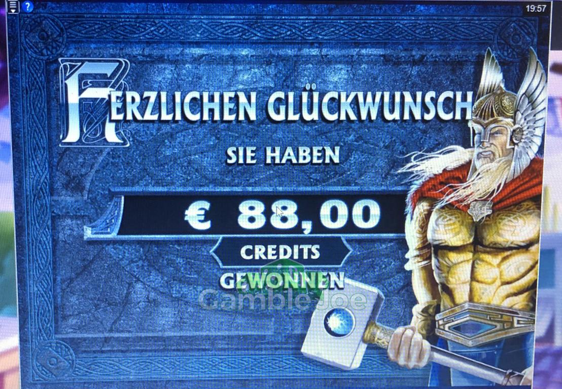 Thunderstruck II Gewinnbild von A****m