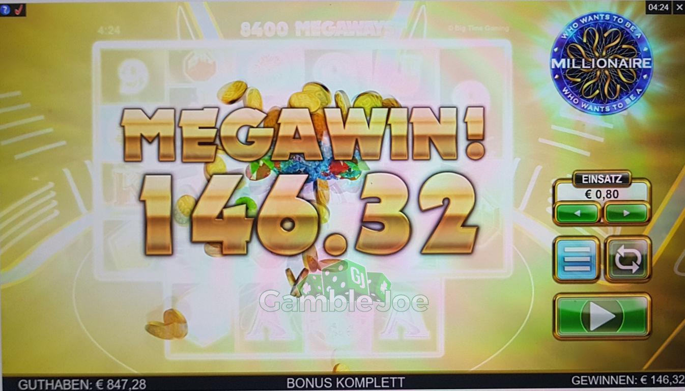 Who Wants to Be a Millionaire Gewinnbild von Begi_HL