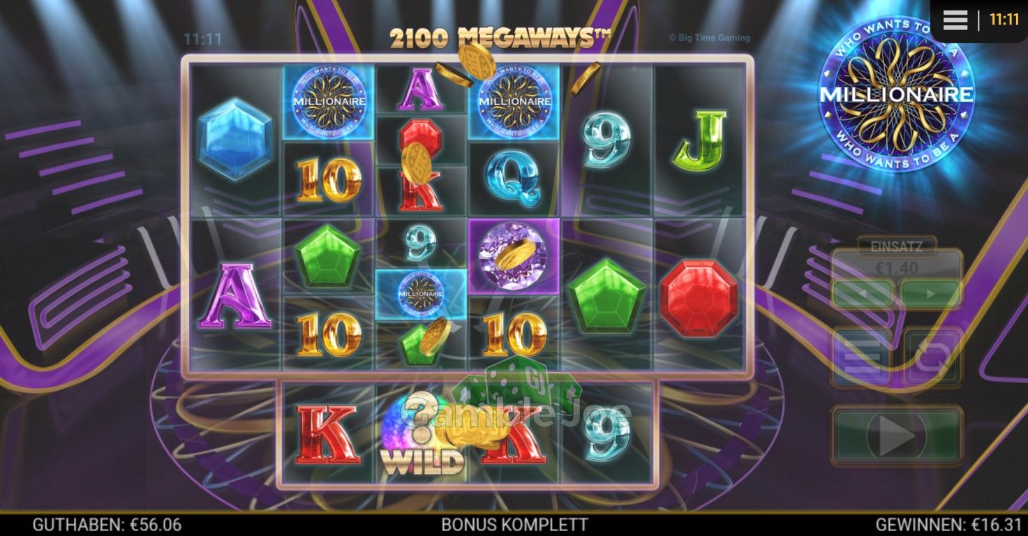 Who Wants to Be a Millionaire Gewinnbild von Nickii45