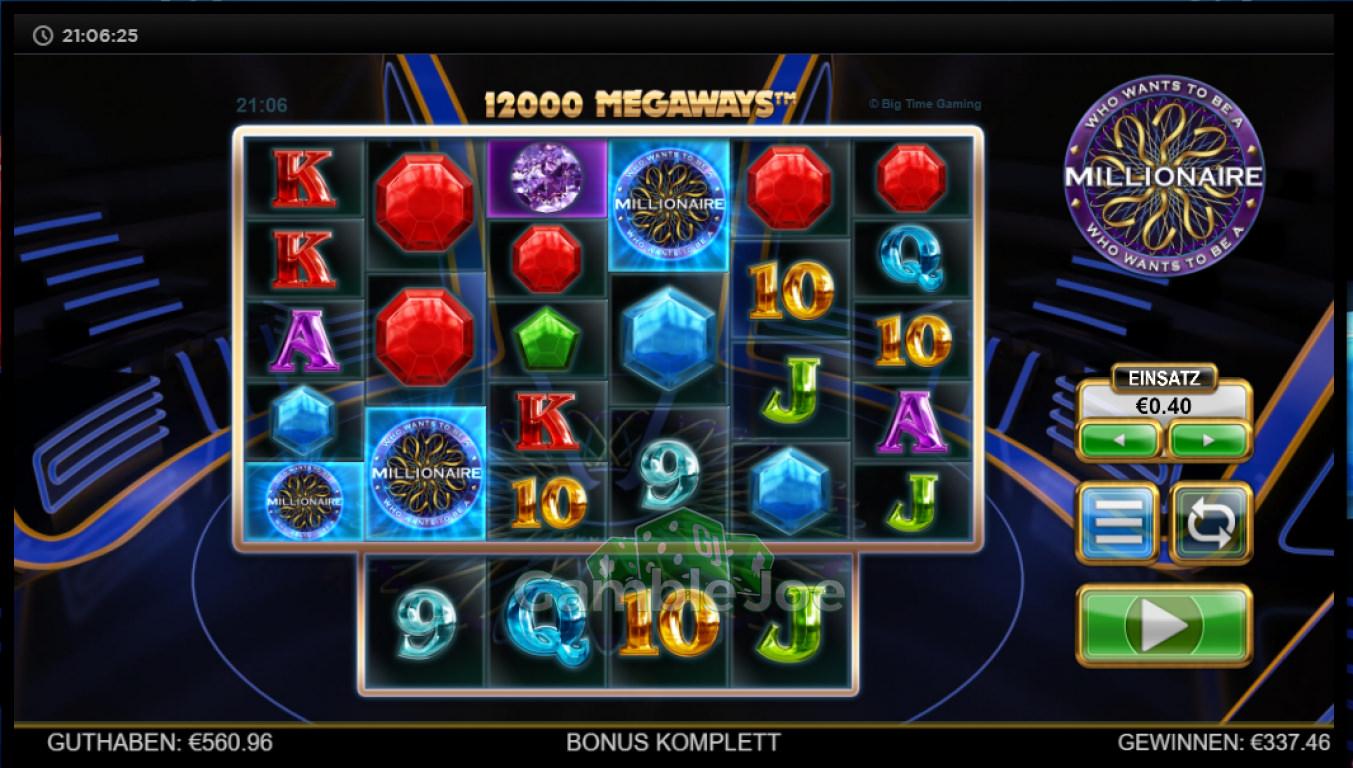 Who Wants to Be a Millionaire Gewinnbild von Skitch22