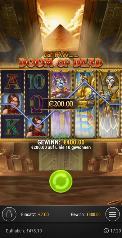 Doom of Dead Gewinnbild von Bow2019