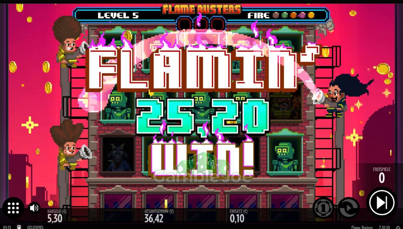 Flame Busters Gewinnbild von Autonym
