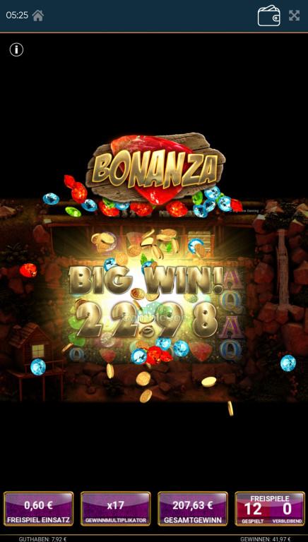 Bonanza Gewinnbild von Pneumatic