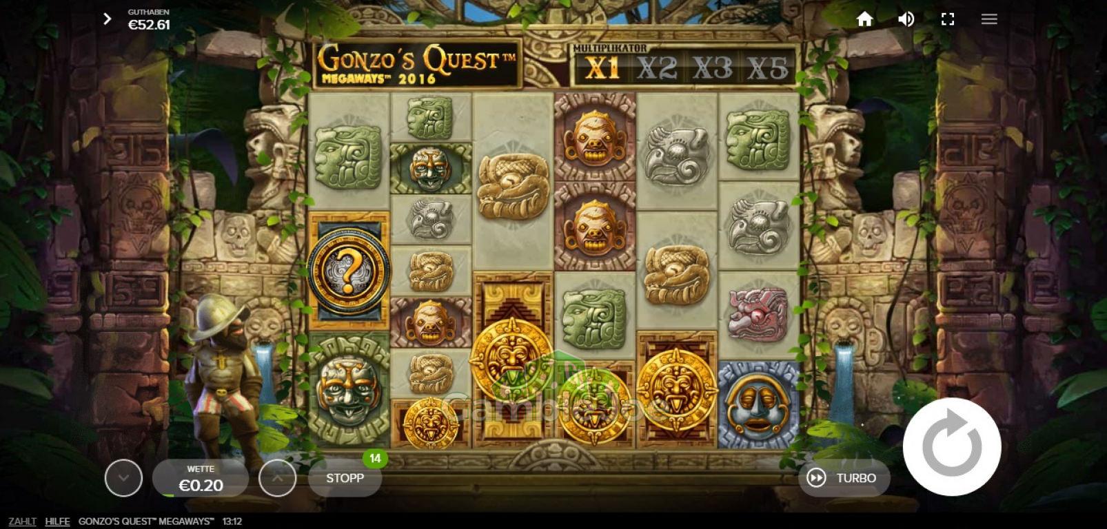 Gonzos Quest Megaways Gewinnbild von m****r