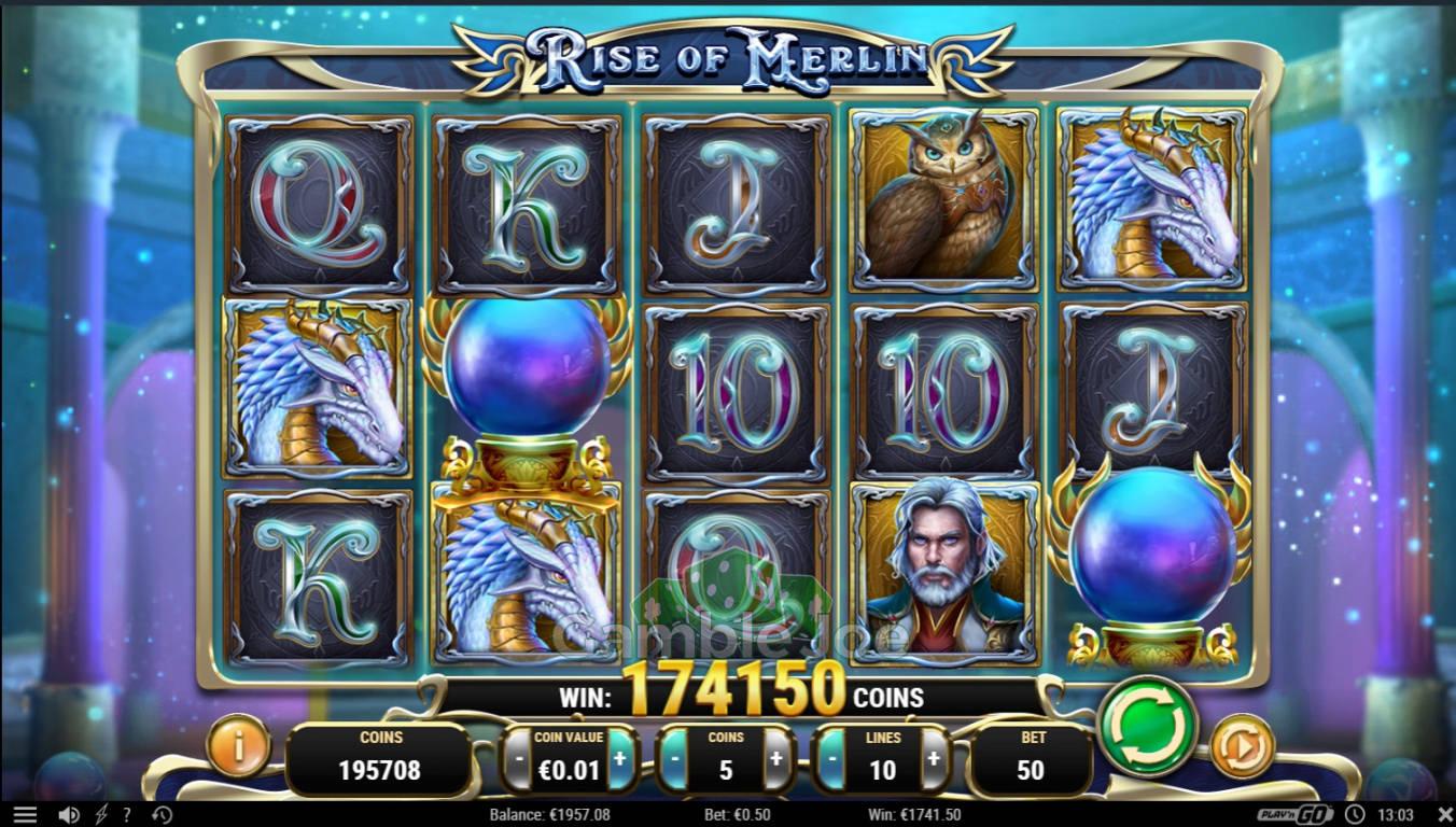 Rise of Merlin Gewinnbild von scr1mka
