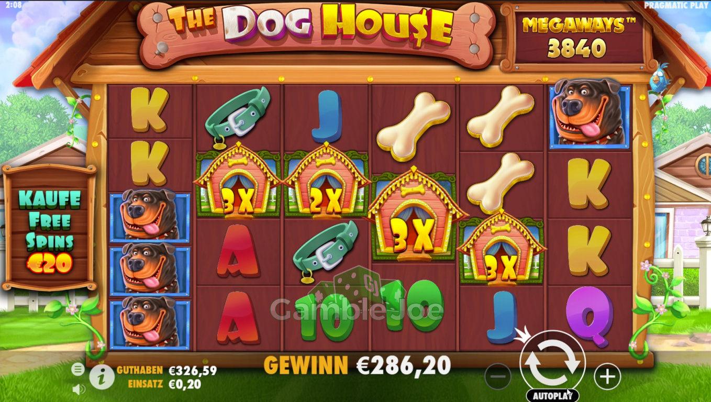 The Dog House Megaways Gewinnbild von alexj