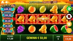 Back to the Fruits Respins of Amun Re Gewinnbild