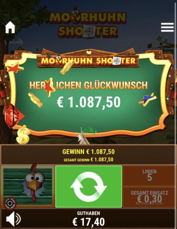 Moorhuhn Shooter Gewinnbild von Marcellovic