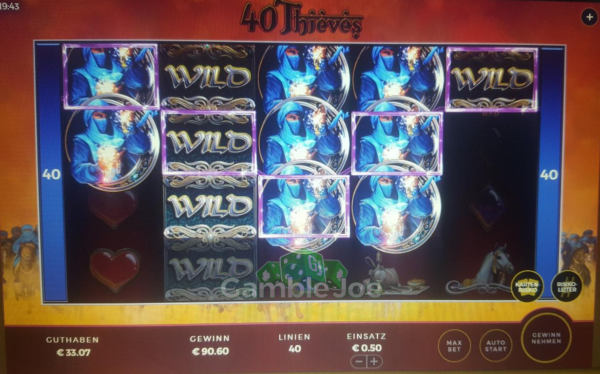 40 Thieves Gewinnbild von mista.manta