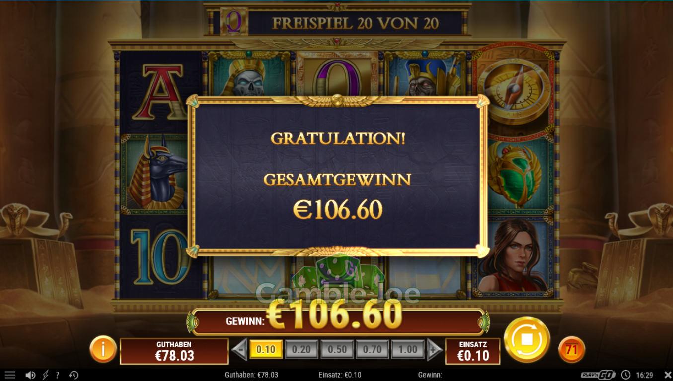Doom of Dead Gewinnbild von gambler90