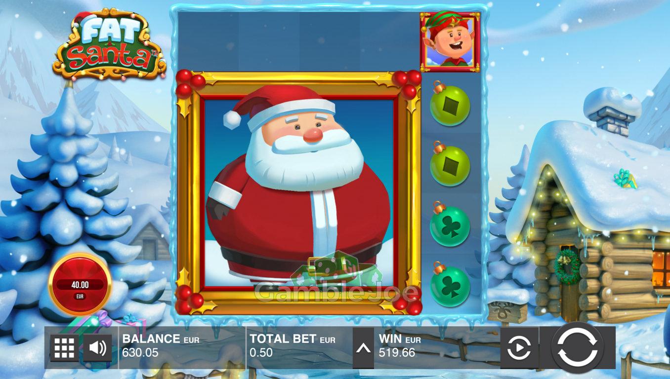 Fat Santa Gewinnbild von AutomatenBrudi