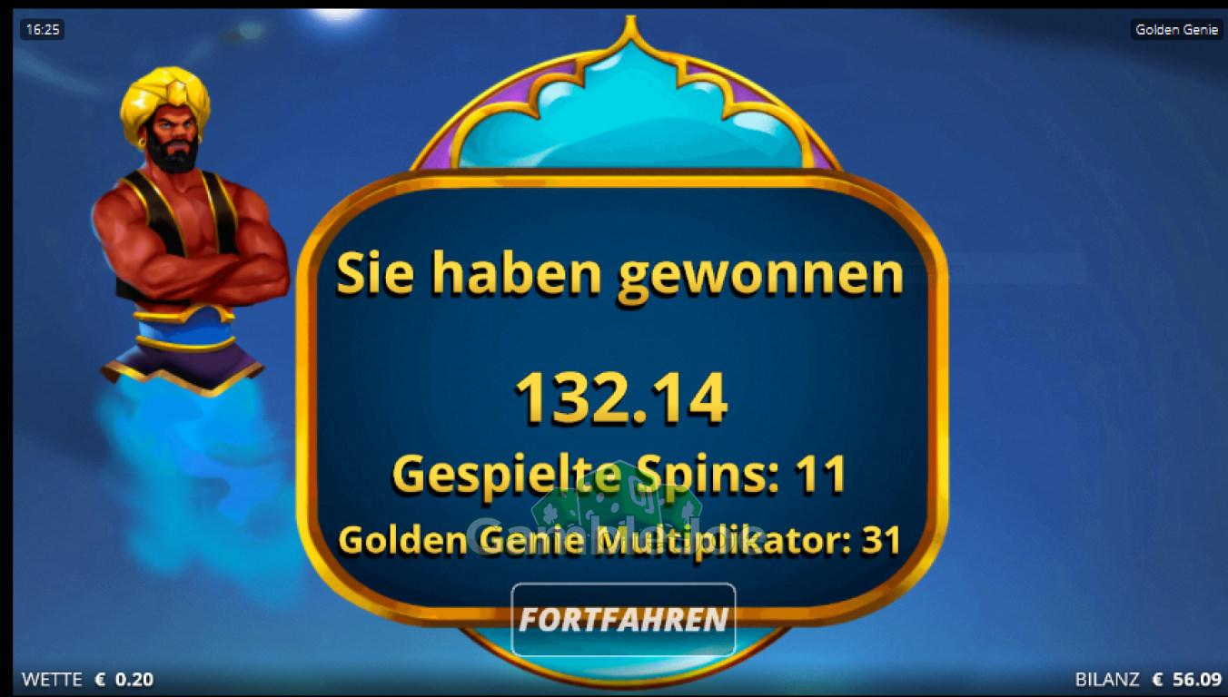 Golden Genie and the Walking Wilds Gewinnbild von myring42