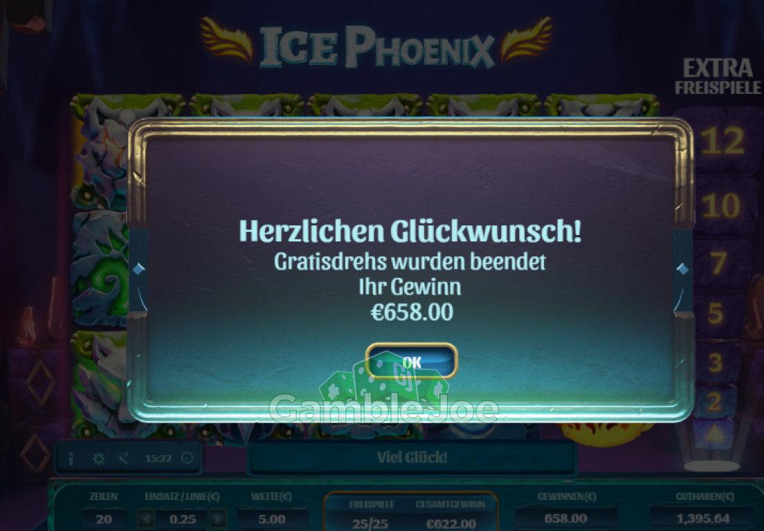 Ice Phoenix Gewinnbild von Chris26