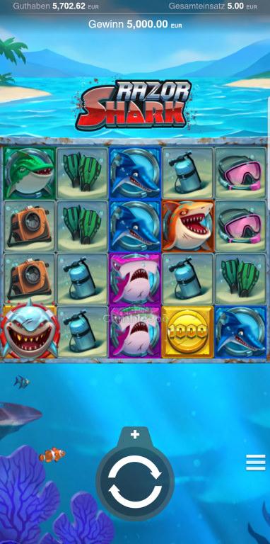 Razor Shark Gewinnbild von Aris1088