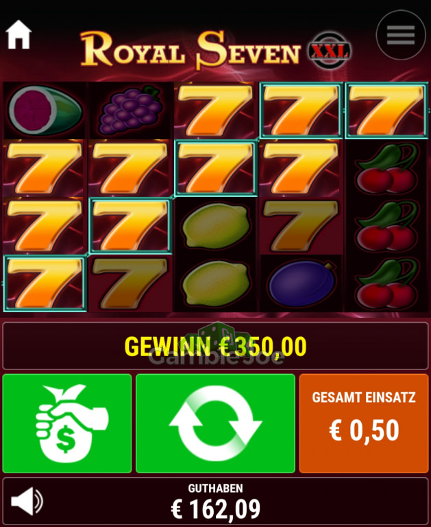 Royal Seven XXL Gewinnbild von Magic4444