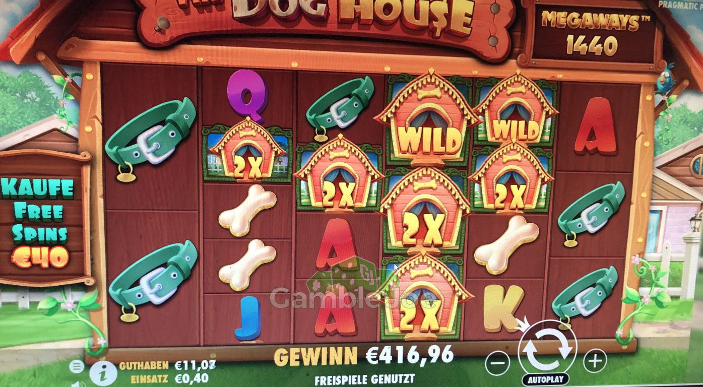 The Dog House Megaways Gewinnbild von GamblerK795