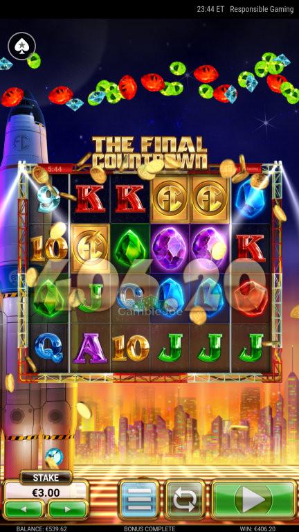 The Final Countdown Gewinnbild von VENS93