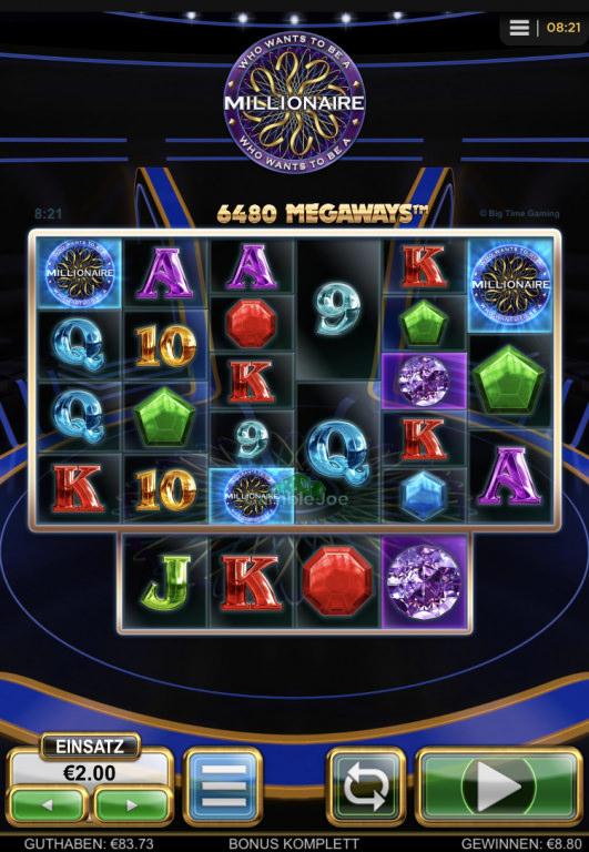 Who Wants to Be a Millionaire Gewinnbild von kleo7777