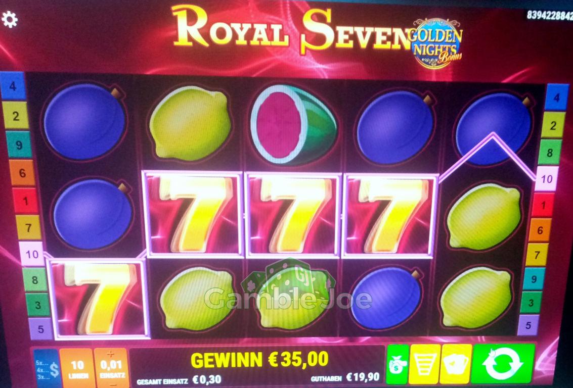 Royal Seven Gewinnbild von KarloKrasso