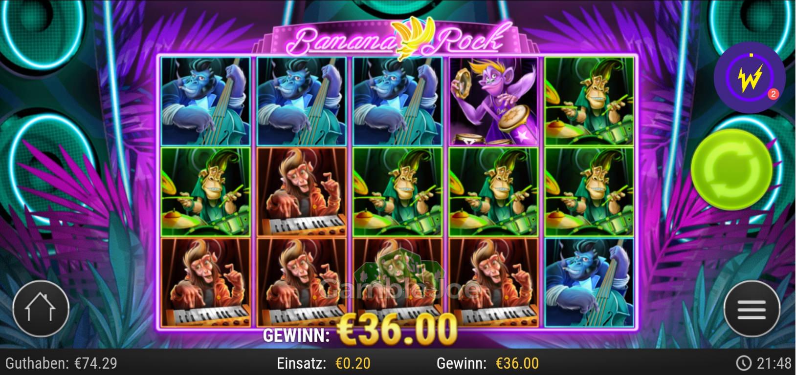 Banana Rock Gewinnbild von Cole666