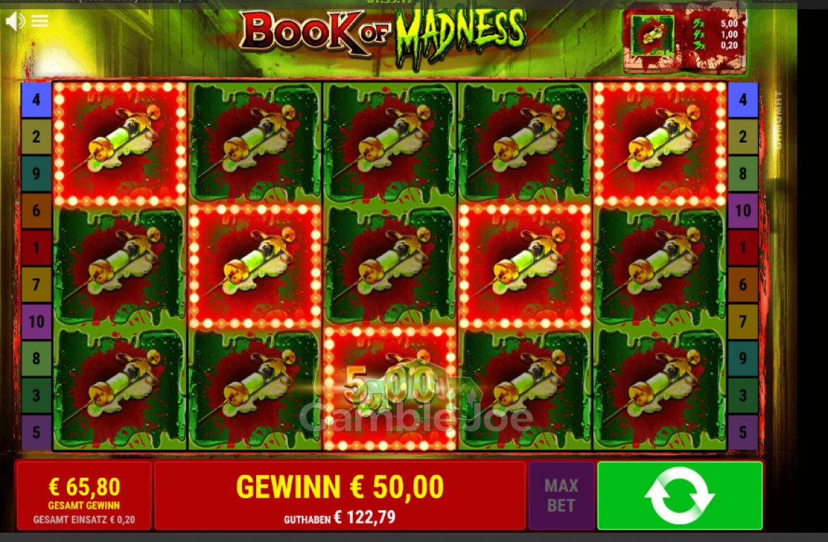 Book of Madness Gewinnbild von myring42