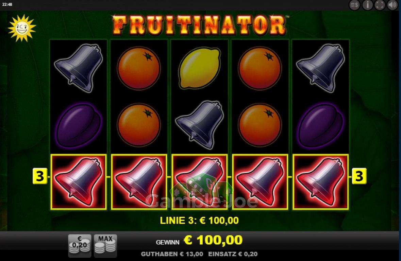 Fruitinator Gewinnbild von garfield68