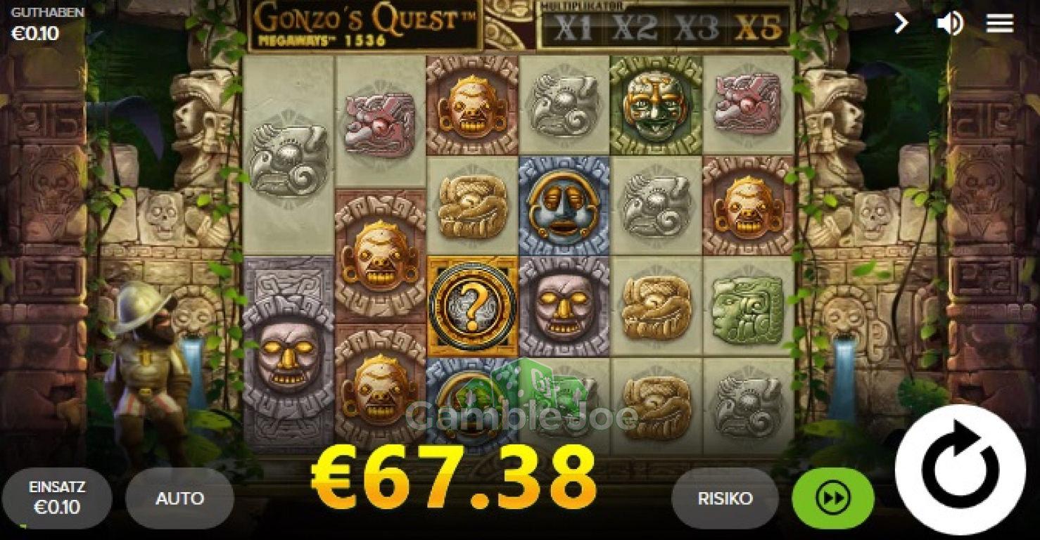 Gonzos Quest Megaways Gewinnbild von dumdumurindanger